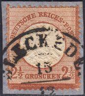 BRUSTSCHILD Nr.21a Sauberer Hannover-K2 BLECKEDE Geprüft Sommer BPP (bb20) - Gebraucht