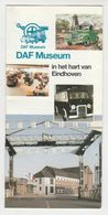 Brochure-leaflet: DAF Trucks Eindhoven DAF Museum - Trucks