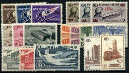 Bélgica-Paquetes Postales Nº 291/3, 298/303, 322/9, 351/2 - Otros