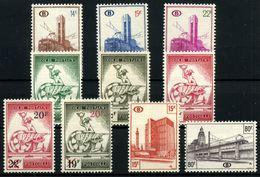 Bélgica-Paquetes Postales Nº 358/60, 361/5, 353, 357 - Autres