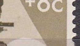 Plaatfout Vlek Voor De Microscoop (zegel 63) In 1955 Kankerbestrijding 25 + 8 Ct NVPH 665 P2 Postfris - Errors & Oddities