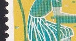 Plaatfout Witte Stip Aan Onderzijde Tafel (zegel 20) In 1959 Kinderzegels 30 + 9 Ct Postfris NVPH 735 P - Errors & Oddities