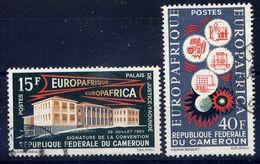 CAMEROUN - 379/380° - EUROPAFRIQUE - Camerún (1960-...)
