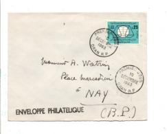 ALGERIE FDC 1963 UNESCO 1963 - Algérie (1962-...)