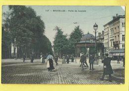 * Brussel - Bruxelles - Brussels * (Edition Grand Bazar Anspach, Nr 147 - COULEUR) Porte De Louvain, Kiosque, TOP - Bruxelles-ville