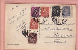 OLD PHOTO POSTCARD - PORTUGAL - LISBOA - NICE STAMS  1949 - Lisboa
