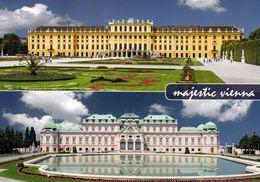 7 AK Österreich Wien * Schloss Schönbrunn Und 4 Innenansichten, Schloss Belvedre, Die Gloriette - UNESCO Weltkulturerbe - Château De Schönbrunn