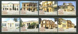 Cyprus 2007 Neoclassical Buildings Set MNH (SG 1145-1152) - Zypern (Republik)