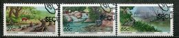 Südafrika South Africa Mi# 831-3 Gestempelt(FDC/SST)/used/CTO -  Environmental Conservation - Afrique Du Sud (1961-...)