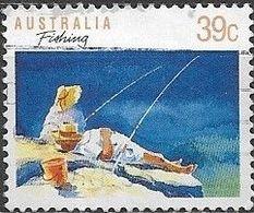 AUSTRALIA 1989 Sports - 39c - Fishing FU - 1980-89 Elizabeth II
