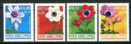 Cyprus 2008 Anemone Set MNH (SG 1158-1161) - Cyprus (Republic)
