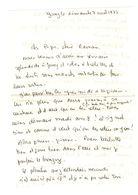 Lettre Manuscrite 1977 Jouy Papa Maman Famille Strasbourg Ozerailles Loctudy - Manuscrits