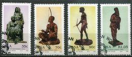 Südafrika South Africa Mi# 855-8 Gestempelt(FDC/SST)/used/CTO - Sculptures - Afrique Du Sud (1961-...)