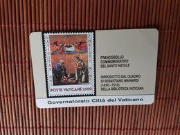 Vatican  Phonecard SCV 3 (Mint,Neuve) 2 Scans Very Rare - Vatican