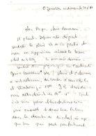 Lettre Manuscrite 1977 Ozeraille Papa Maman Famille Villaz Lausanne Strasbourg Metz Oz Billy Luxembourg Londres - Manuscrits