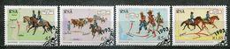 Südafrika South Africa Mi# 908-11gestempelt(FDC/SST)/used/CTO - Postal Service, Horses - Afrique Du Sud (1961-...)