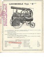 Documentation / Descriptif / LOCOMOBILE Avec Chaudière  / 25 BESANCON / P DAGNAUD - Automobile
