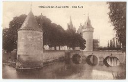 CPA [45] Loiret > Château De Sully Sur Loire - Côté Nord - Sully Sur Loire