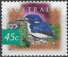 AUSTRALIA 1997 Fauna And Flora. Kakadu Wetlands, Northern Territory - 45c -Mangrove Kingfisher ('Little Kingfisher') MNG - 1990-99 Elizabeth II