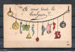 Carte Illustrée. La Vous Tout Le Bonheur - Humour