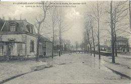 2020 - 07 - VAL DE MARNE - 94 - VILLENEUVE SAINT GEORGES - Crue De La Seine - Avenue De Melun - Villeneuve Saint Georges