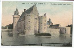 CPA Colorisée [45] Loiret > Château De Sully Sur Loire - Sully Sur Loire