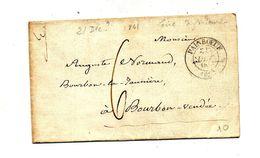Devant De Lettre Cachet Painboeuf 6 Decimes + - 1801-1848: Précurseurs XIX