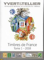 2018 Catalogue YVERT France, Tome 1, Port 8.95 - France