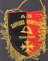 Toulouse (31 Haute Garonne)  écusson - Fannion  SAPEURS POMPIERS DE TOULOUSE  (PPP23336) - Ecussons Tissu