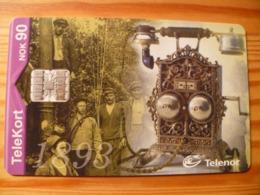 Phonecard Norway - Old Telephone - Norvège
