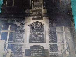 LE SOURD - Carte-Photo Du Monument Aux Morts - - Other Municipalities