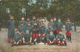 4877 CPA Militaria -Groupe De Soldats Prisonniers En Allemagne - Kriegsgefangene Im Sennelager - Französische Chargierte - Weltkrieg 1914-18
