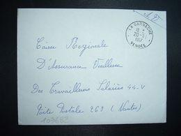 LETTRE OBL.20-5 1967 LA GARNACHE VENDEE (85) - Marcophilie (Lettres)