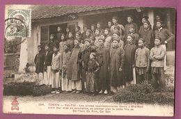 Cpa Tonkin Yen The Les Pirates Soumissionnaires Reunis A Nha Nam Avant Leur Arrestation - édition Dieulefils N°3341 - Viêt-Nam
