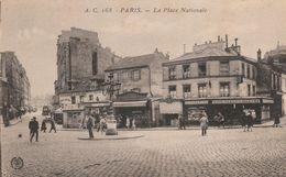 75--PARIS--PLACE NATIONALE-VOIR SCANNER - Arrondissement: 13