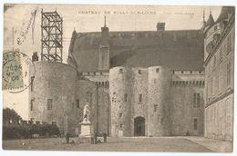 CPA [45] Loiret > Château De Sully Sur Loire En Travaux - Sully Sur Loire