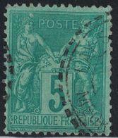 SAGE - N°75 - CACHET - TYPE 84 - LAY ST CHRISTOPHE - MEURTHE ET MOSELLE - CACHET PARTIEL. - 1877-1920: Periodo Semi Moderne