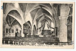 CPA [45] Loiret > Sully Sur Loire - Intérieur De L'Eglise Saint-Ythier - Sully Sur Loire