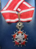 TCHECOSLOVAQUIE MEDAILLE ORDER OF THE WHITE LION PRAVDA VITEZI KARNET & KYSELY Czechoslovakian - Medals