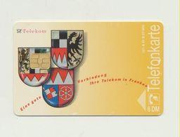 A 01 B  - Telekom In Franken / Kunstkarte / A.H. Kettmann - Auflage 27.000 -  Gebraucht !!! ( 18 ) - Germany