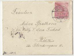 Austria Letter Cover Posted 1912 Kötsch (Hoče?) To Wien B200701 - Slovenia