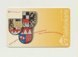 A 01 C  - Telekom In Franken / Kunstkarte / Lilo Emmerling - Auflage 30.000 -  Gebraucht !!! ( 19 ) - Germany