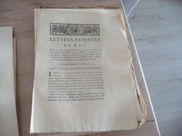 Lettres Patente Du Roi 17/06/1787 Création De 6 Millions De Rentes Viagères;; - Decrees & Laws