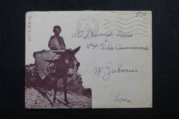 FRANCE / ALGÉRIE - Enveloppe Illustré En FM Pour La France En 1956 -  L 64415 - Guerra De Argelia