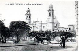 MONTEVIDEO  IGLESIA DE LA MATRIZ - Uruguay
