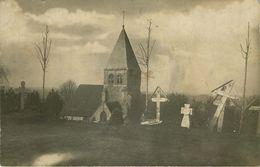 CARTE MILITAIRE  (carte Photo ) CIMETIERE Allemagne / Bas Rhin - Cementerios De Los Caídos De Guerra