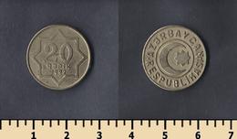 Azerbaijan 20 Kepik 1992 - Azerbaïdjan