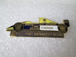 PIN'S  WILLIAMS   RENAULT  F W 13 B Email - Renault