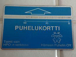 Finland Phonecard HÄMEEN PUHELIN HPO-D7 ( 304D.... ) USED CARD - Finlande