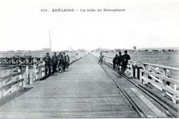 ADELAIDE  LA JETEE DU SEMAPHORE - Adelaide